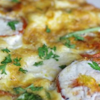Frittata - An open faced omelette topped with all your favorites