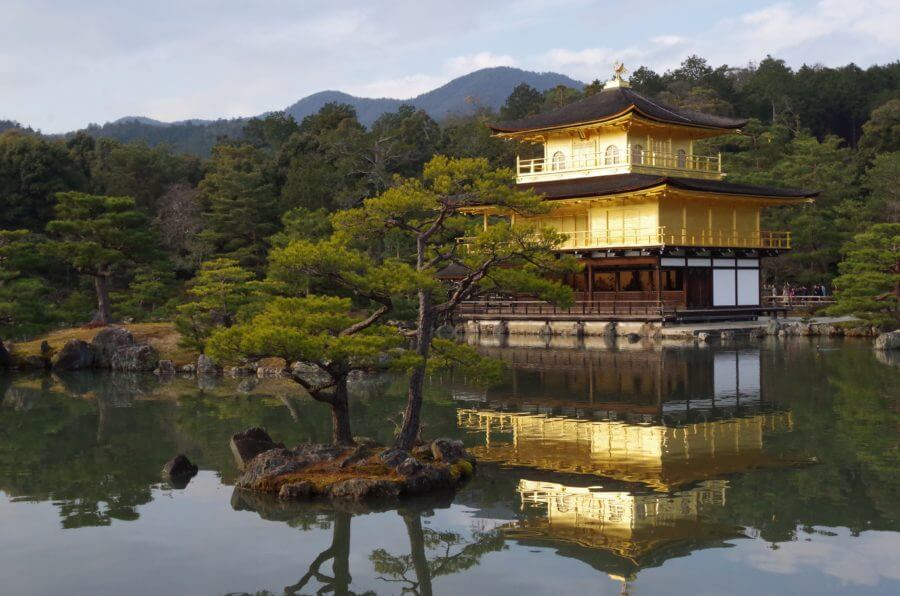 Japan's National Treasure: Golden Temple