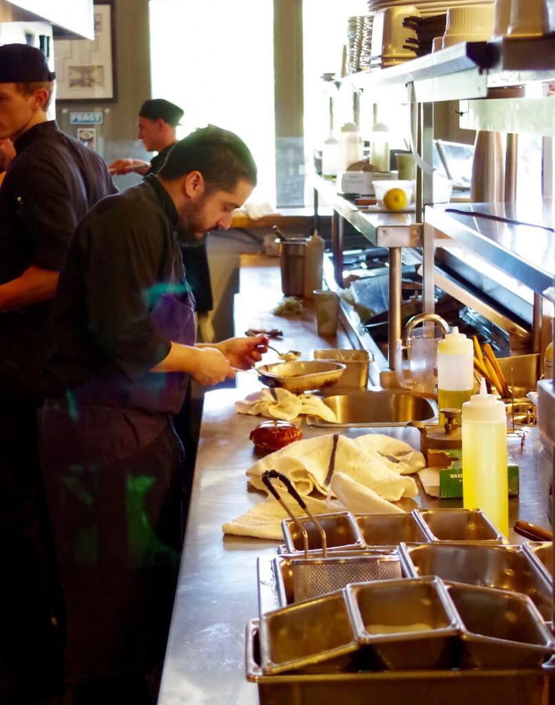 Chef Angel David Firefly Grill Exhibition Kitchen