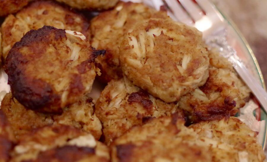 Golden Crusted Crab Cakes