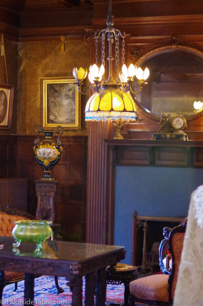 Rockcliffe Mansion Library | www.lakesidetable.com