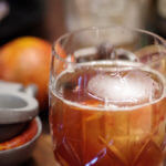 Blood and Sand Cocktail Recipe - this is a rare mixed drink that calls for Scotch. Its smoky & sweet like a cool fall day and a roaring bonfire. | www.lakesidetable.com