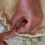 Best ever Easy homemade pie crust recipe just like grandma used to make! | www.lakesidetable.com