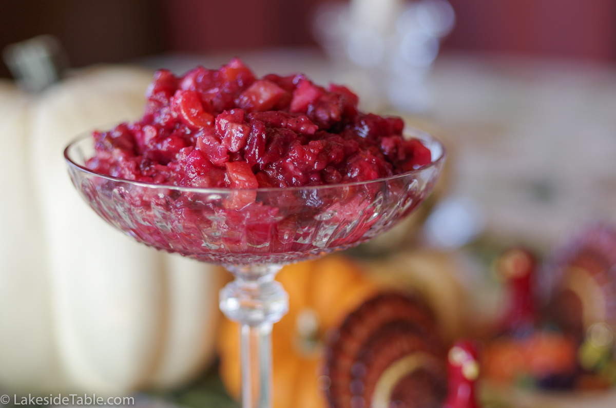 Homemade Cranberry Sauce is the Crown Jewel of the Thanksgiving Table, and sooooo much FUN to make! | www.lakesidetable.com