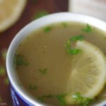 Beef Bone Broth Recipe - Full of antioxidants and collagen protein! Perfect for cold winter days   www.Lakesidetable.com
