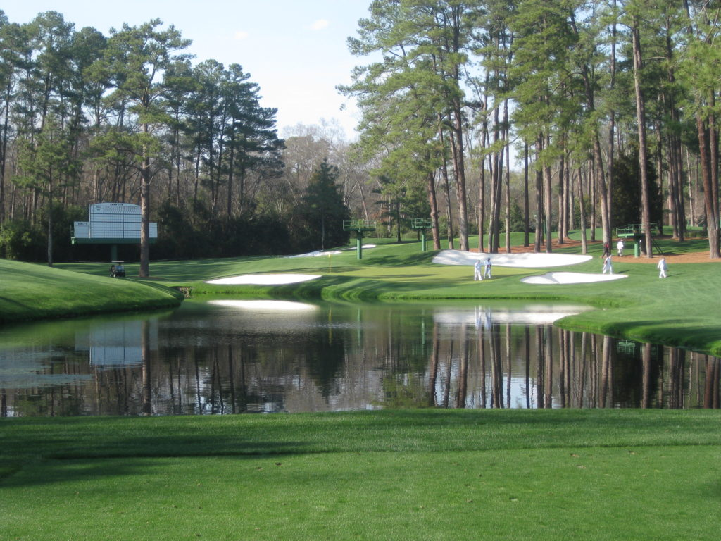 Augusta GA Masters golf course