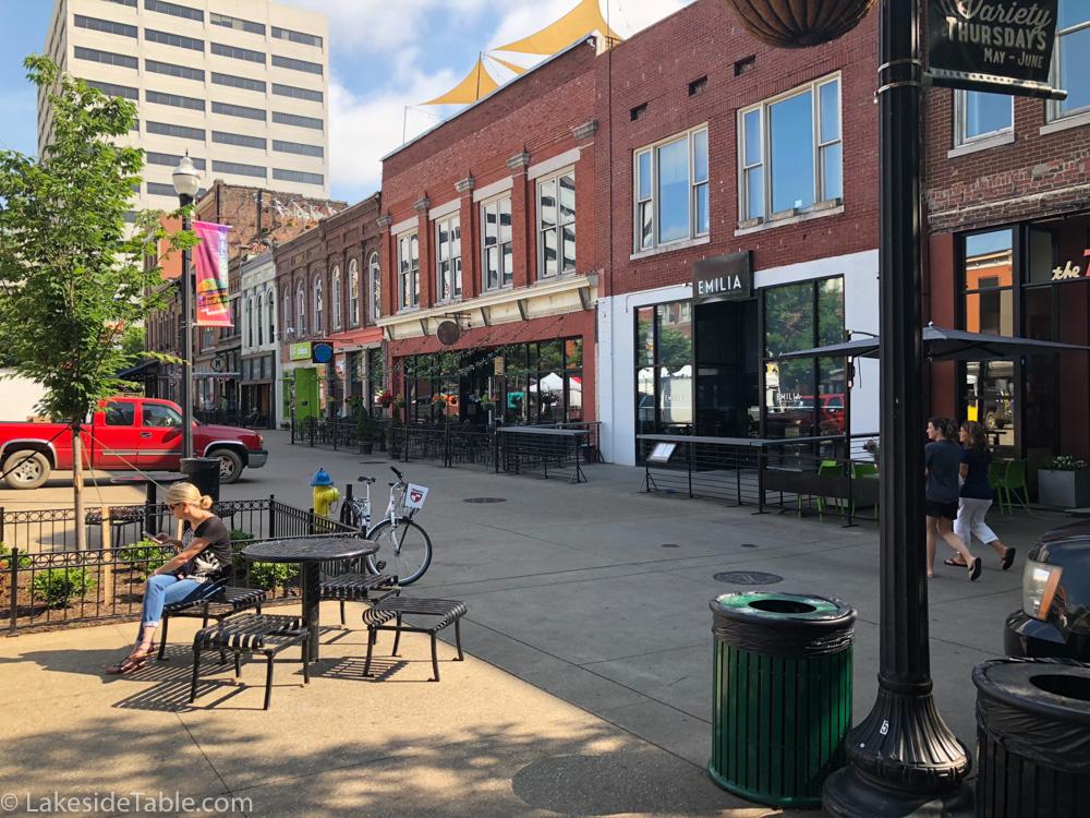 Market Square Knoxville TN Emilia Restaurant