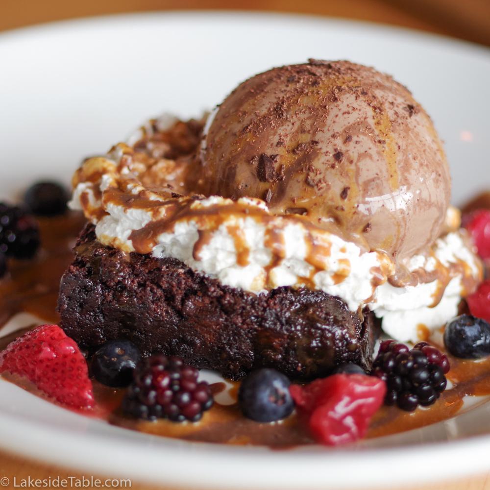Firefly's Brownie Sundae