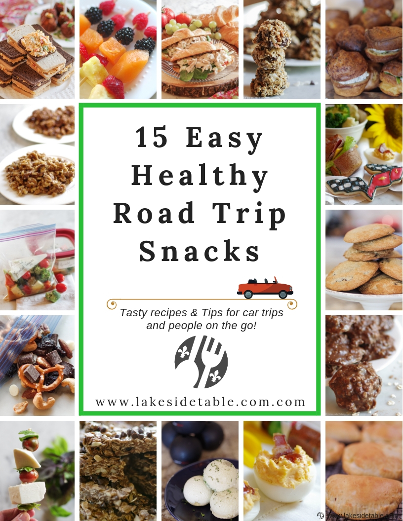 Easy Healthy Road Trip Snacks