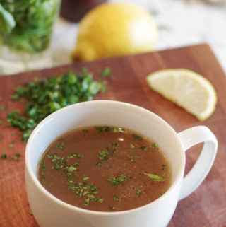 Beef Bone Broth Benefits & Recipe
