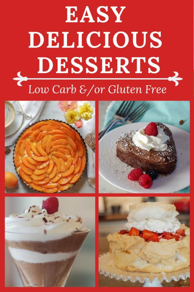Easy delicious desserts to add to your personal recipe collection. Keep this PIN handy because more recipes are always being added!
