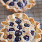 Almond Blueberry Tarts are the perfect hand-held for any time. I can't get enough of them! | www.lakesidetable.com