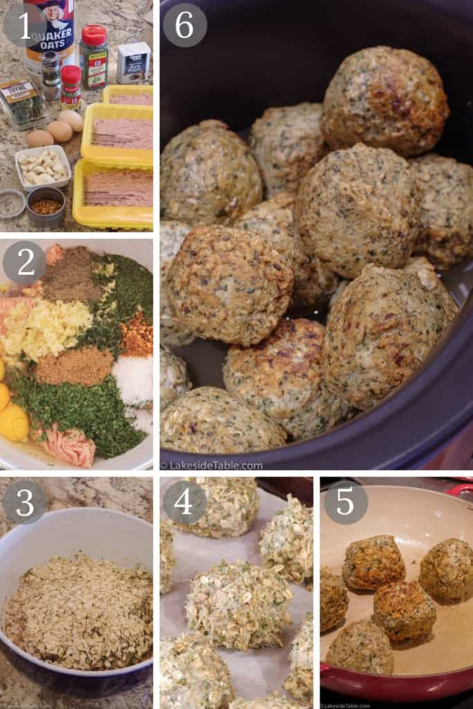 These Thai meatballs are inspired by the Firefly Grill's chicken curry meatball appetizer. Great Thai flavors with a touch of heat and coconut curry spices. So good!   www.lakesidetable.com