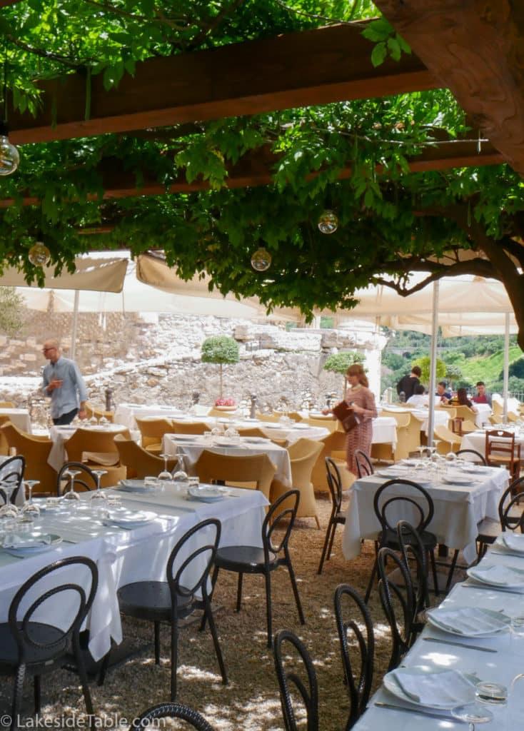 Sibilla restaurant tivoli italy