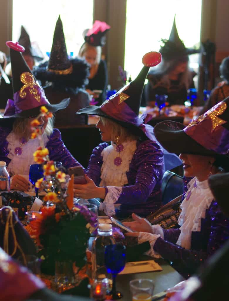 the witches go all out in the most creative ways for Witchfest. Here are some Purple Rain witches