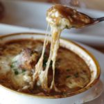 easy French onion soup with beef broth