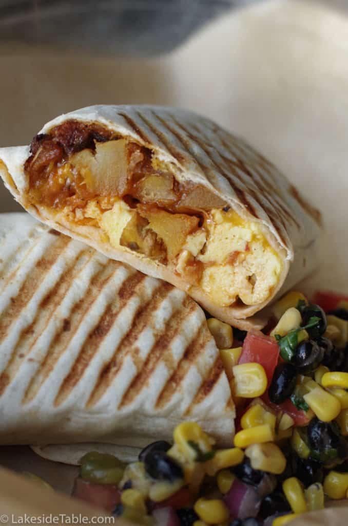 Joe Sippers breakfast wrap