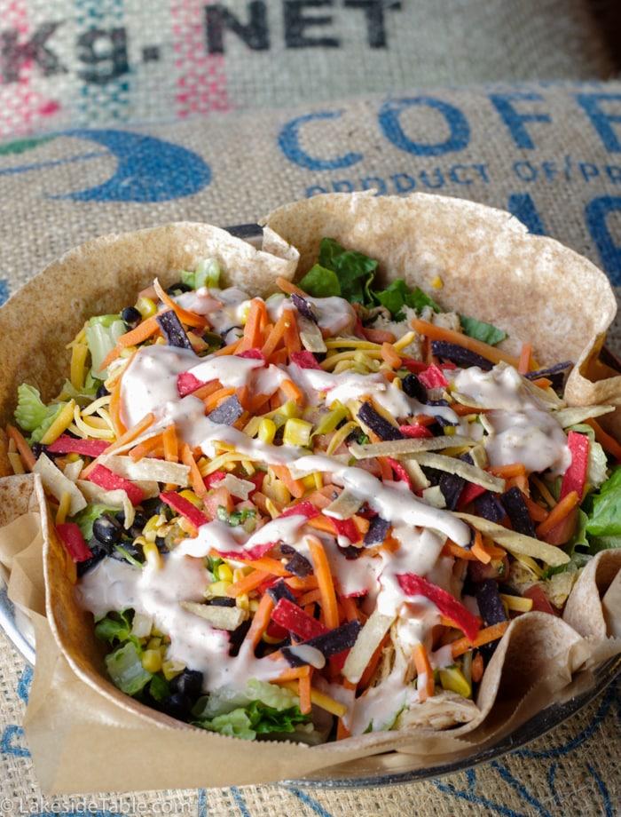 Joe Sippers Southwestern salad