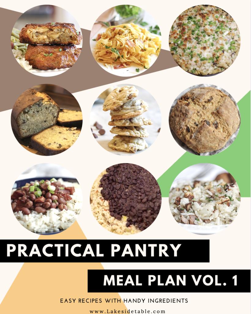 Practical Pantry Meal Plan Vol. 1