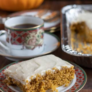 cream cheese pumpkin bars